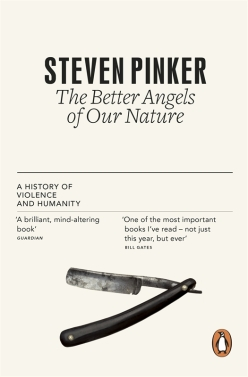 The Better Angels of our Nature by Steven Pinker, jacket image